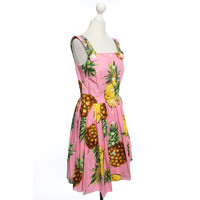 Dolce & Gabbana Motif Print Dress With Buttons Angle2