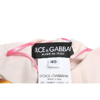 Dolce & Gabbana Motif Print Dress With Buttons Angle4