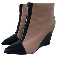 Marc By Marc Jacobs Ankle Boots In Two Tone