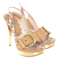 Casadei Sandals Decorated With Clasp