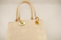Cream Lady Dior Soft bag Angle7