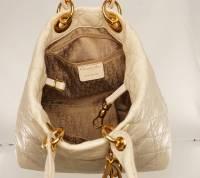 Cream Lady Dior Soft bag Angle11