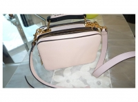 Marc Jacobs MINI BRIEFCASE Handbags Leather Pink Angle4