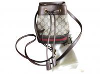 Gucci Gucci mini ophidia bucket Handbags Leatheret Angle2