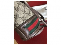Gucci Gucci mini ophidia bucket Handbags Leatheret Angle4