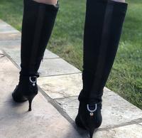Vintage Gucci Heels Angle1