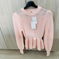 BRAND NEW WITH TAGS - Zimmermann peplum sweater Angle2