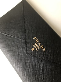 PRADA Evening wallet Angle2