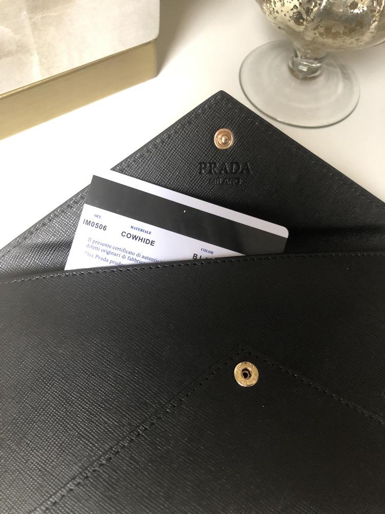 PRADA Evening wallet