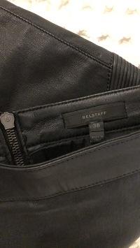 Moto- leather Belstaff skirt Angle3