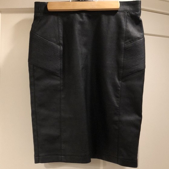 Moto- leather Belstaff skirt