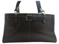 Dior Handbags Handbags Leather Dark brown