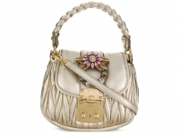Miu Miu Miu miu bag new Handbags Leather Metallic