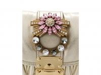 Miu Miu Miu miu bag new Handbags Leather Metallic Angle3