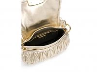 Miu Miu Miu miu bag new Handbags Leather Metallic Angle4