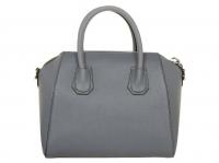 Givenchy Antigona bag Handbags Leather Grey Angle2