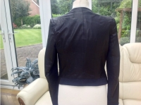 A.L.C Biker jacket Biker jackets Leather Black Angle3