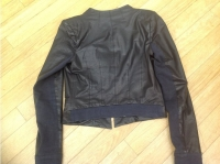 A.L.C Biker jacket Biker jackets Leather Black Angle4