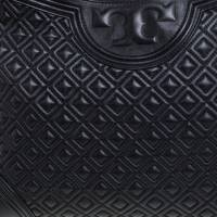 Tory Burch Fleming  large leather black Angle3