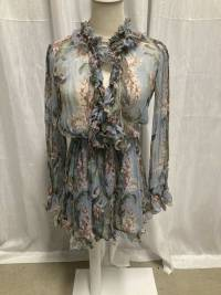 Zimmermann Floral Romper  Angle4