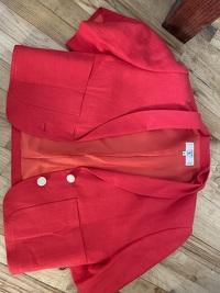Valentino Miss V Suit Jacket