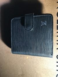 LV Black Epi Wallet