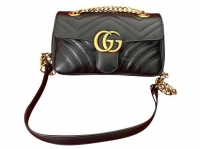 Gucci Marmont with structured flap Angle1