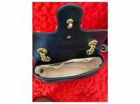 Gucci Marmont with structured flap Angle9