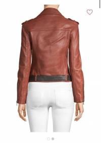 Brick Brown Maje Jacket New  Angle2