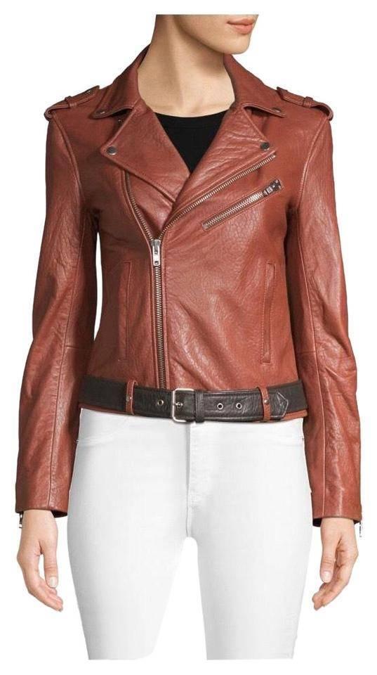 Brick Brown Maje Jacket New