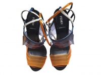 Fendi Sandals Sandals Leather Multiple colors
