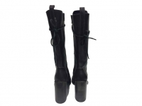 Ann Demeulemeester Superb Boots dark brown laces Angle2