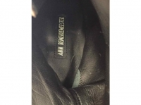 Ann Demeulemeester Superb Boots dark brown laces Angle5