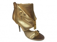 Very Very cool GOLDEN ANKLE Boots by Moschino