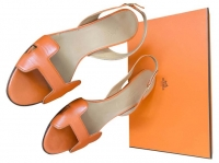 Hermes. Night Sandals. Size: FR 39. Sublime and ic