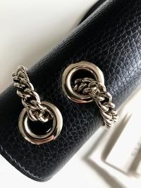 Interlocking Calfskin Shoulder Bag Angle5