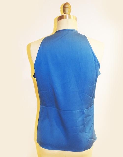 DVF Berit ruffled blouse sz 4