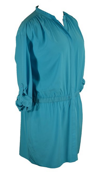 """DVF Blue Deandra cuff dress"""""""""""""""