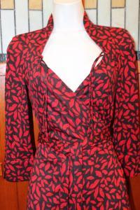 DVF Gildred Sleeve Wrap Dress-Diane von Furstenber Angle2