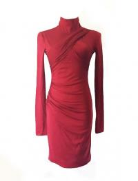 Emilio Pucci Draped Wool Dress