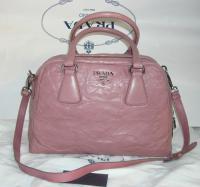 Pink Prada bag Angle1