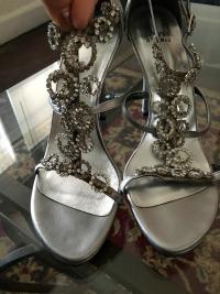 Stuart Weitzman Embellished heels