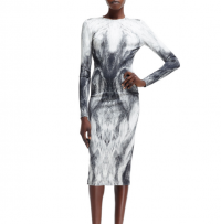 New Alexander McQueen printed dress