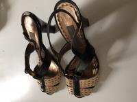 Alberta Ferreti Strappy Heels Angle3