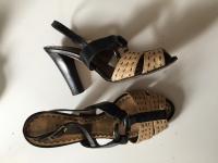 Alberta Ferreti Strappy Heels Angle2