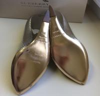 Burberry Prorsum silver wedges Angle5