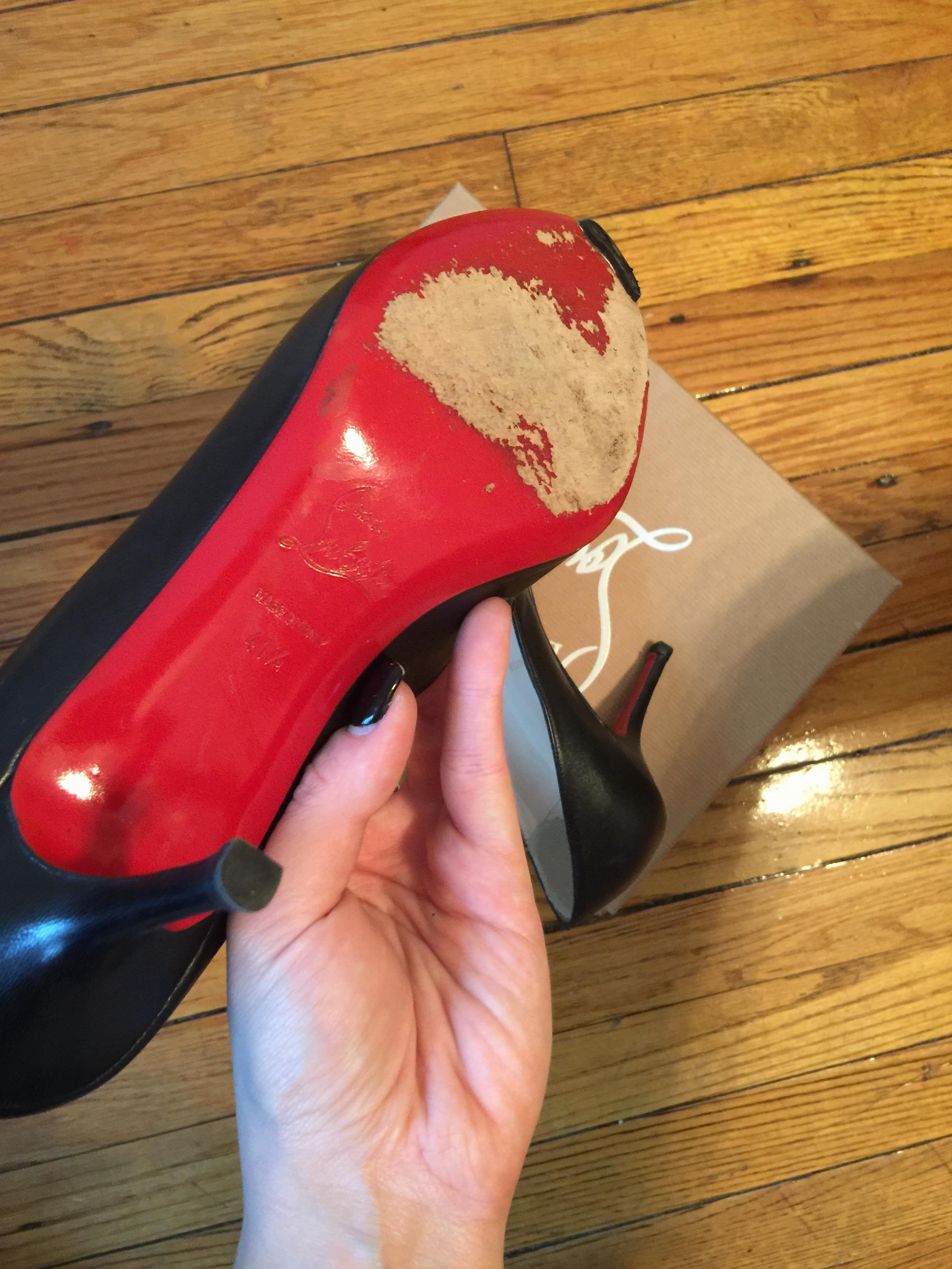 Christian Louboutin Simple Pump Mid-Heel