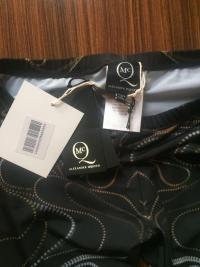 McQ McQueen Zipper Print Leggings XS Angle4