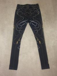 McQ McQueen Zipper Print Leggings XS Angle5