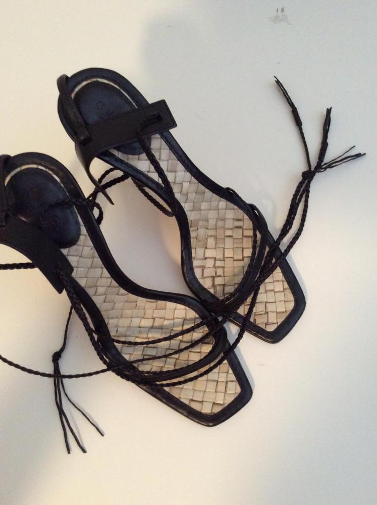 Gucci Lace up Heels